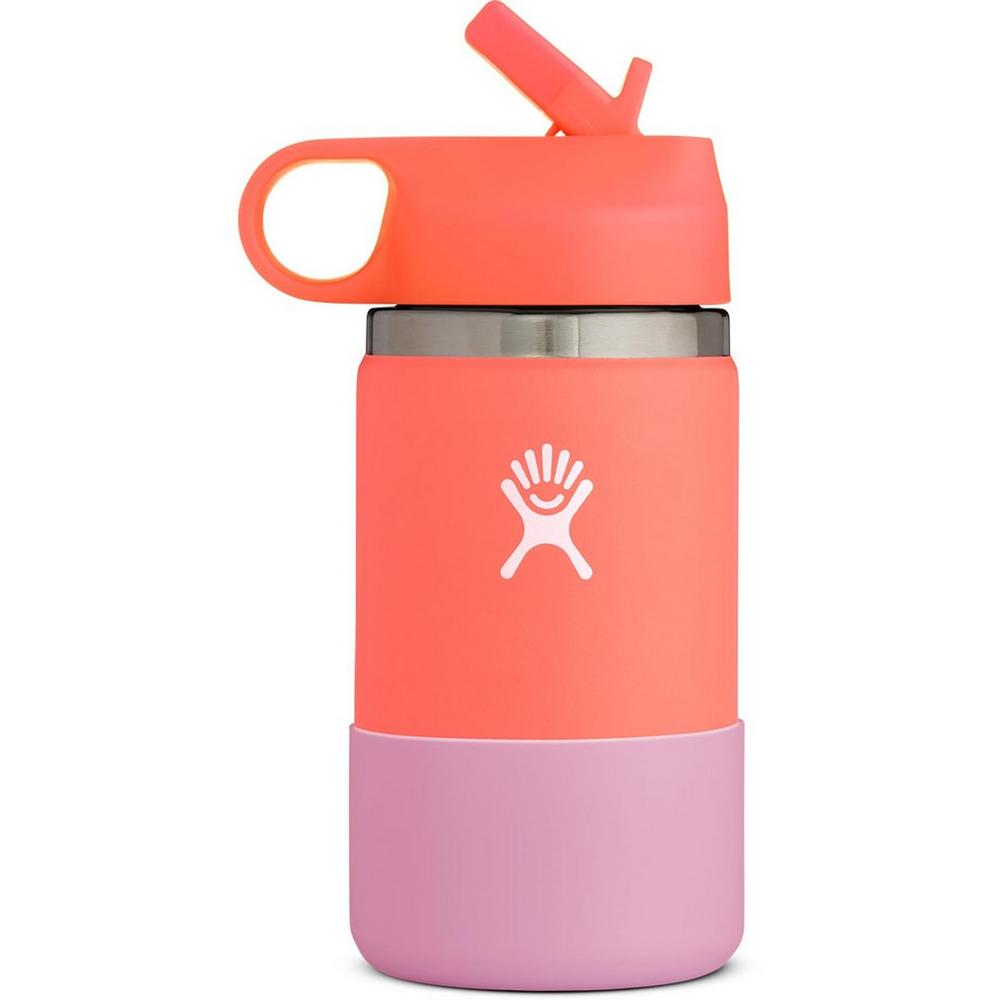 Hydro Flask 12oz Wide Mouth Kids - Hibiscus