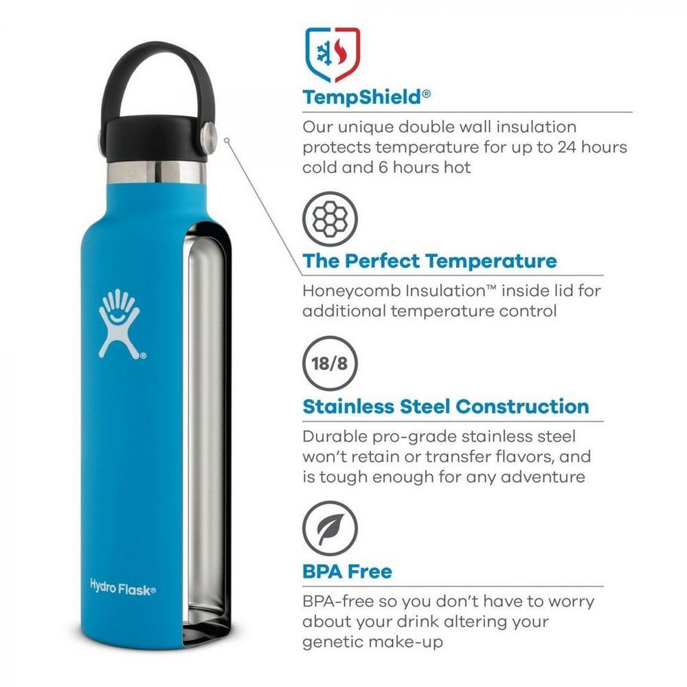 Hydro Flask 21oz Flex Standard Mouth - Rain
