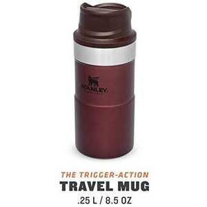 Classic Trigger-Action Travel Mug 0.25L - Wine