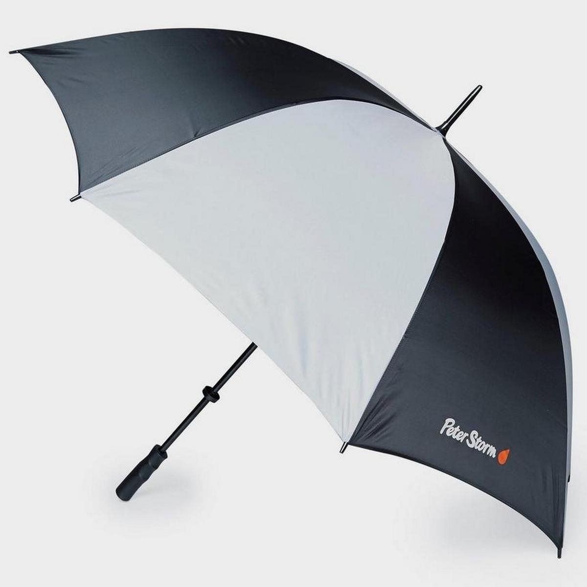 Peter Storm Golf Umbrella - Black/Grey