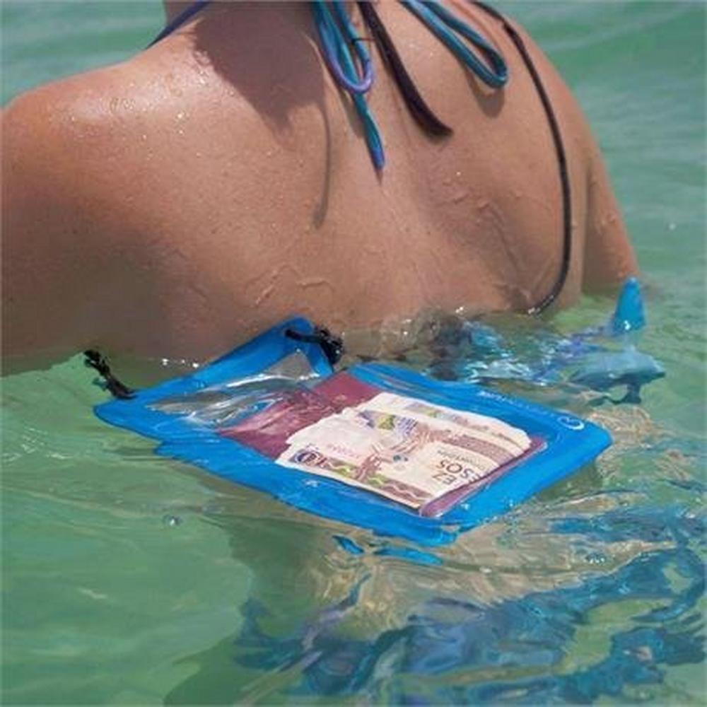 Lifeventure Waterproof Phone Pouch Plus - Blue