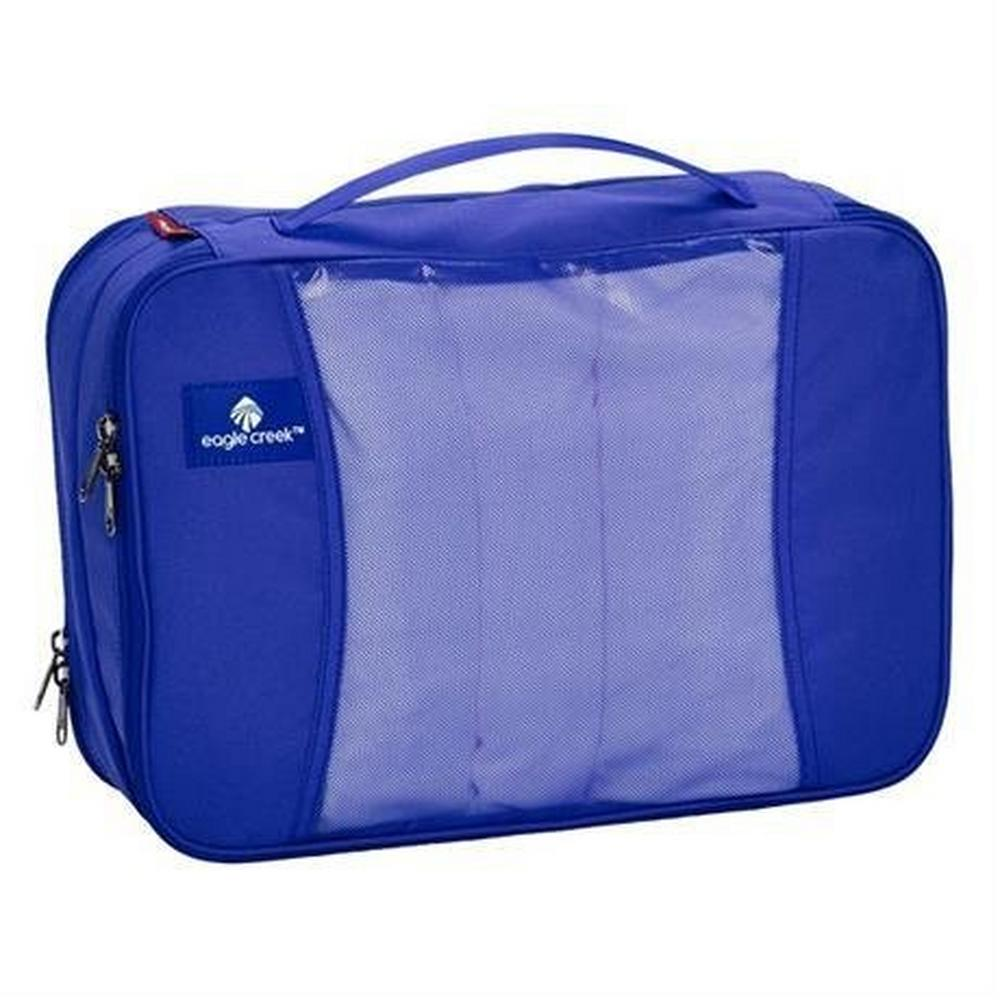 Eagle Creek Travel Lugagge: Pack-it Original Clean and Dirty Cube MEDIUM BlueSea