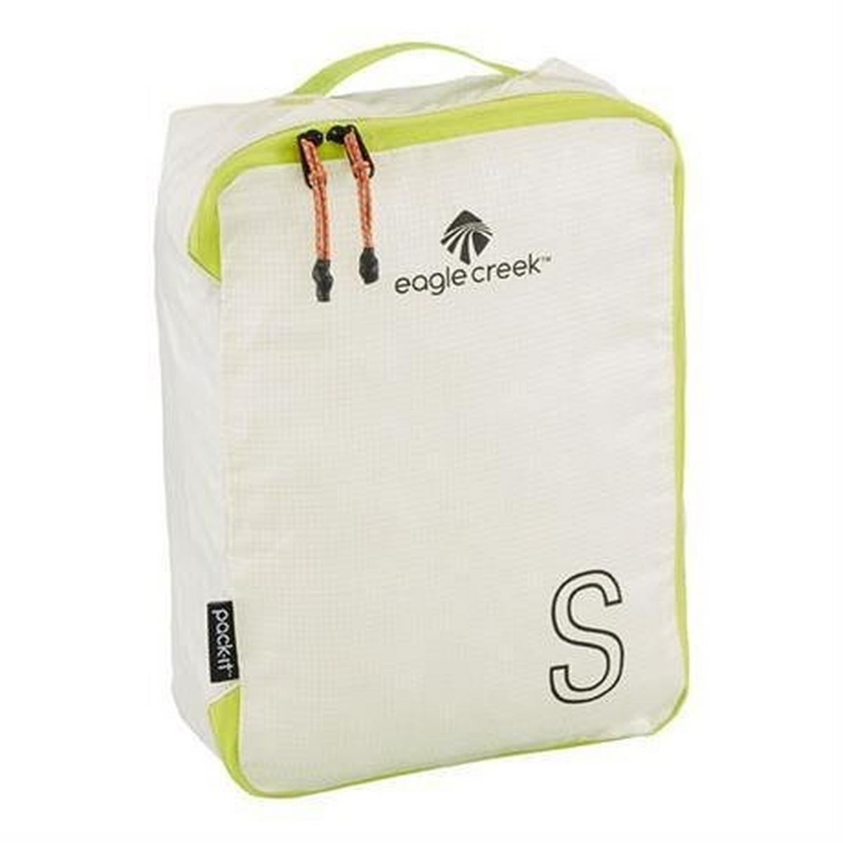 Eagle Creek Travel Lugagge: Pack-It Specter Tech Cube SMALL White/Strobe Green