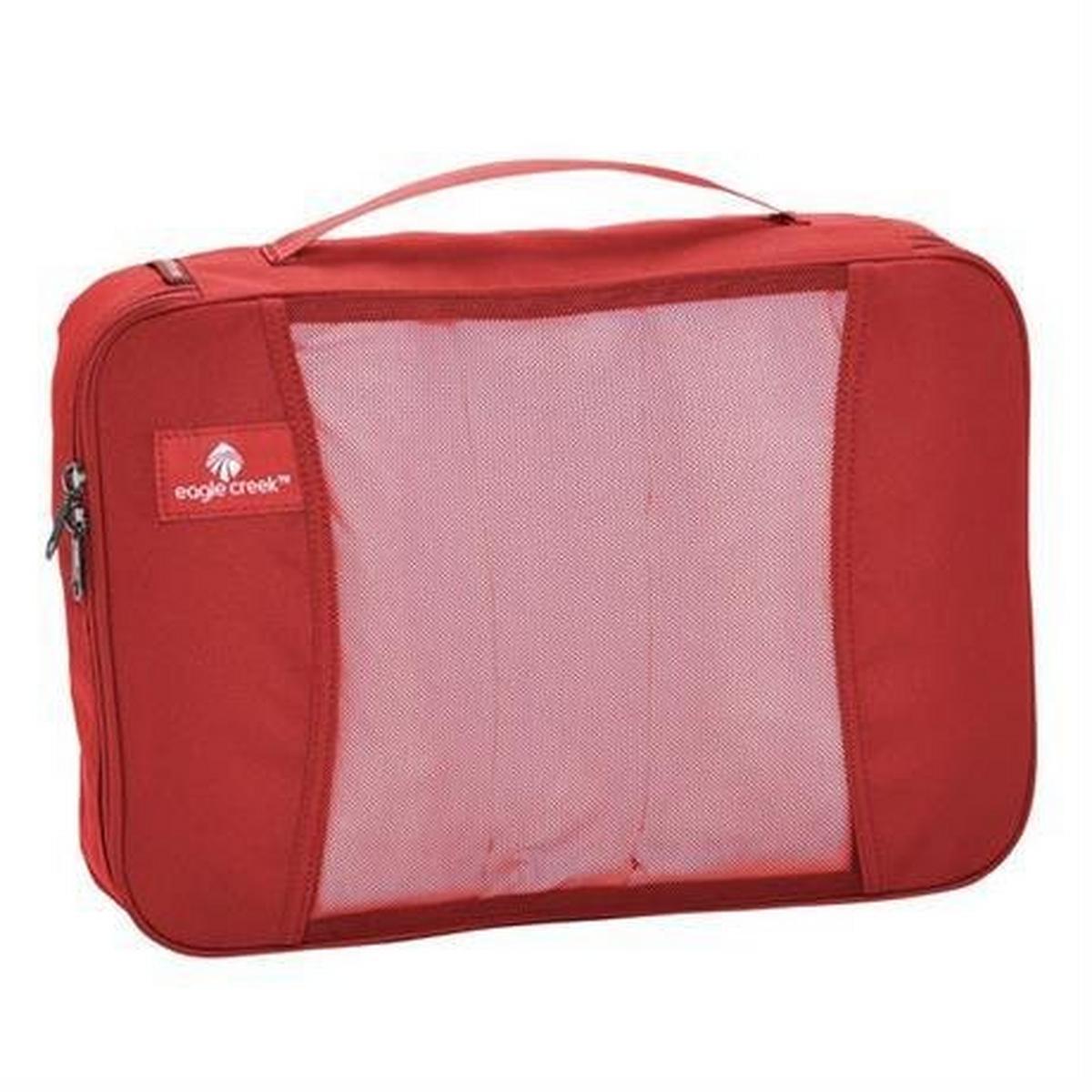 Eagle Creek Travel Luggage: Pack-It Original Cube MEDIUM Red Fire
