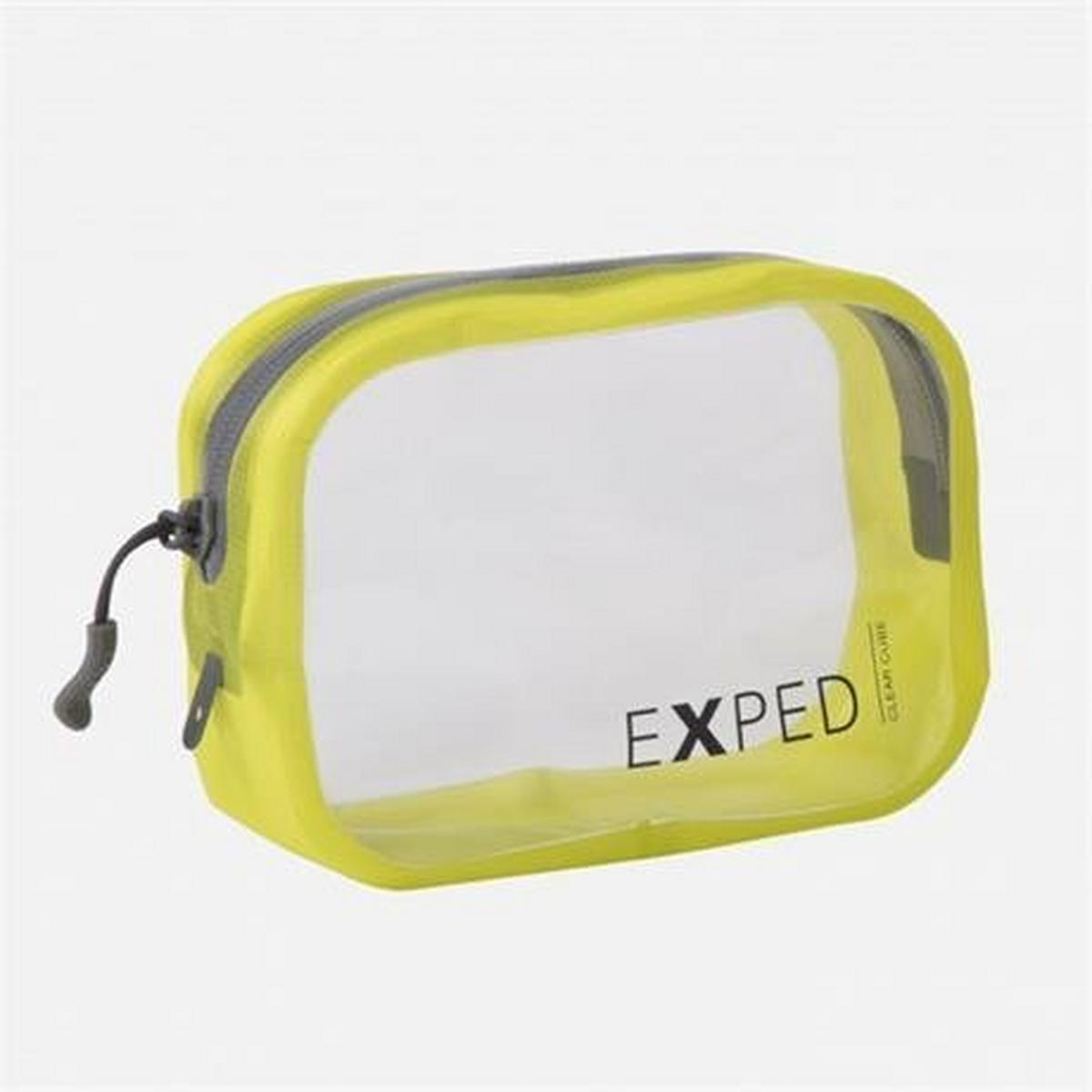 Exped Travel Luggage: Clear Cube SMALL 1L Yellow