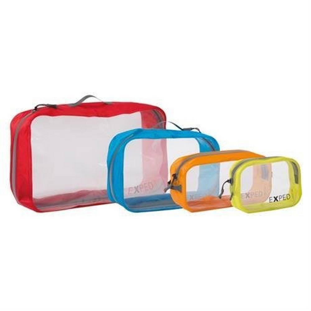Exped Travel Luggage: Clear Cube MEDIUM 3L Orange