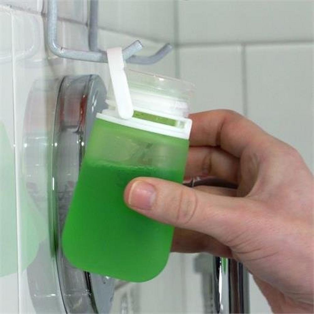 Humangear GoToob+ SMALL 44ml Clear/Green/Blue (3 Pack)