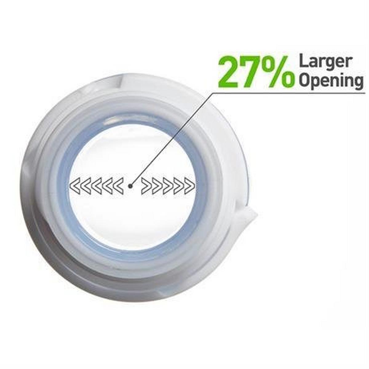 Humangear GoToob+ MEDIUM 74ml Clear/Green/Blue (3 Pack)