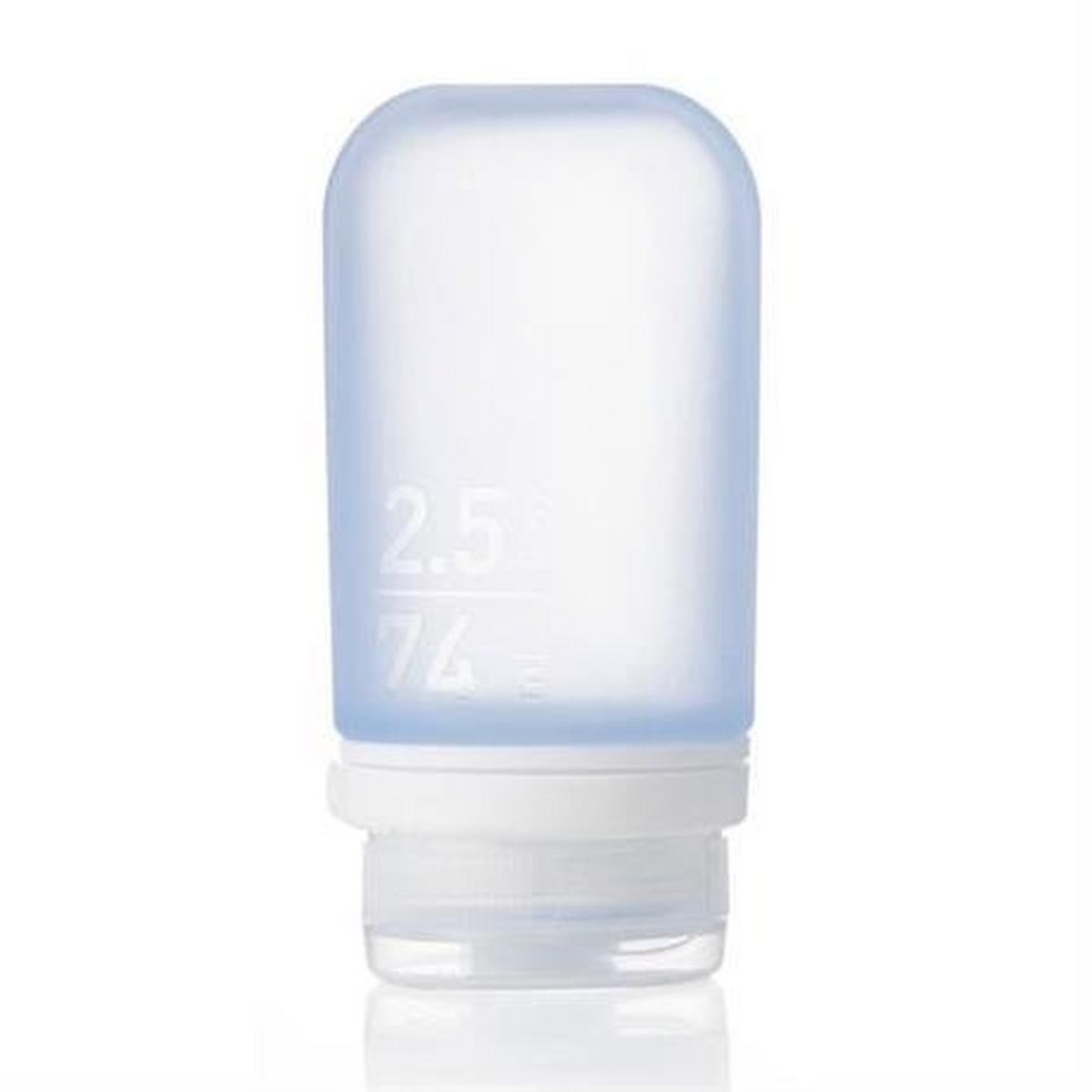 Humangear GoToob+ MEDIUM 74ml Clear/Purple/Turquoise (3 Pack)