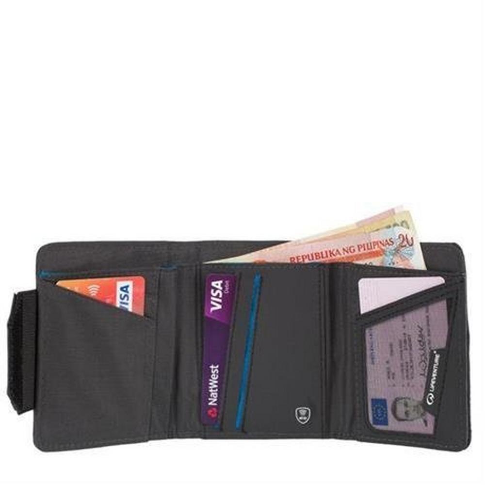 Lifeventure RFiD Wallet Grey