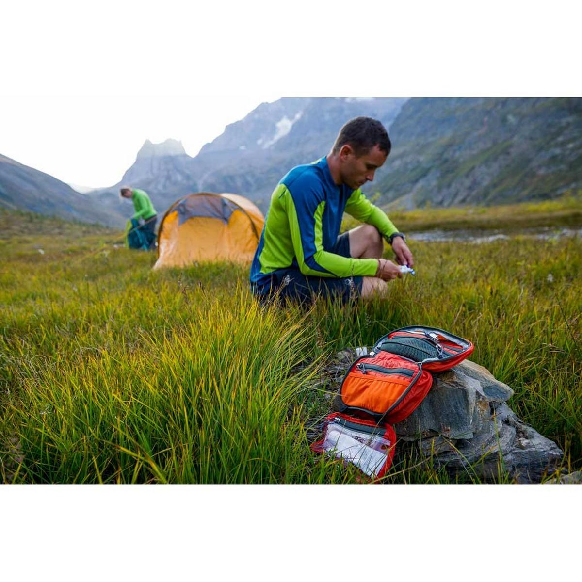 Osprey Travel Washbag Ultralight Zip Poppy Orange