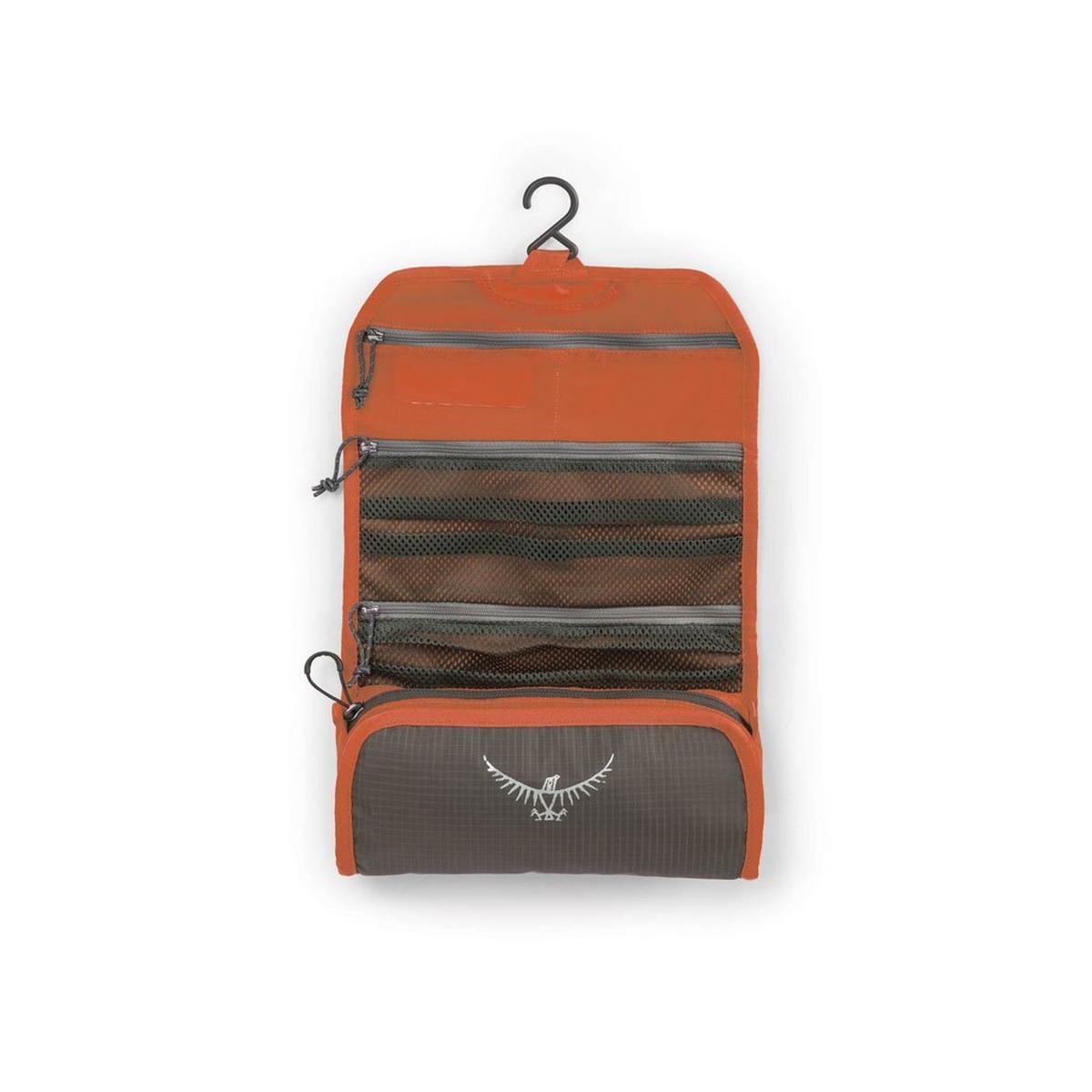 Osprey Travel Washbag Ultralight Roll Poppy Orange