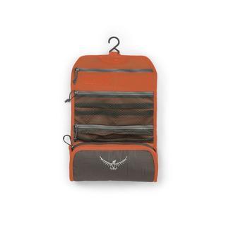 Travel Washbag Ultralight Roll Poppy Orange