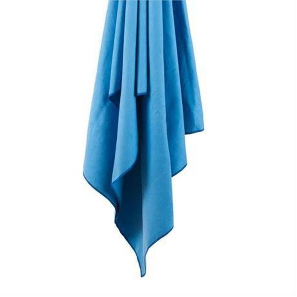 Lifeventure SoftFibre Travel Towel - Pocket Size, Blue