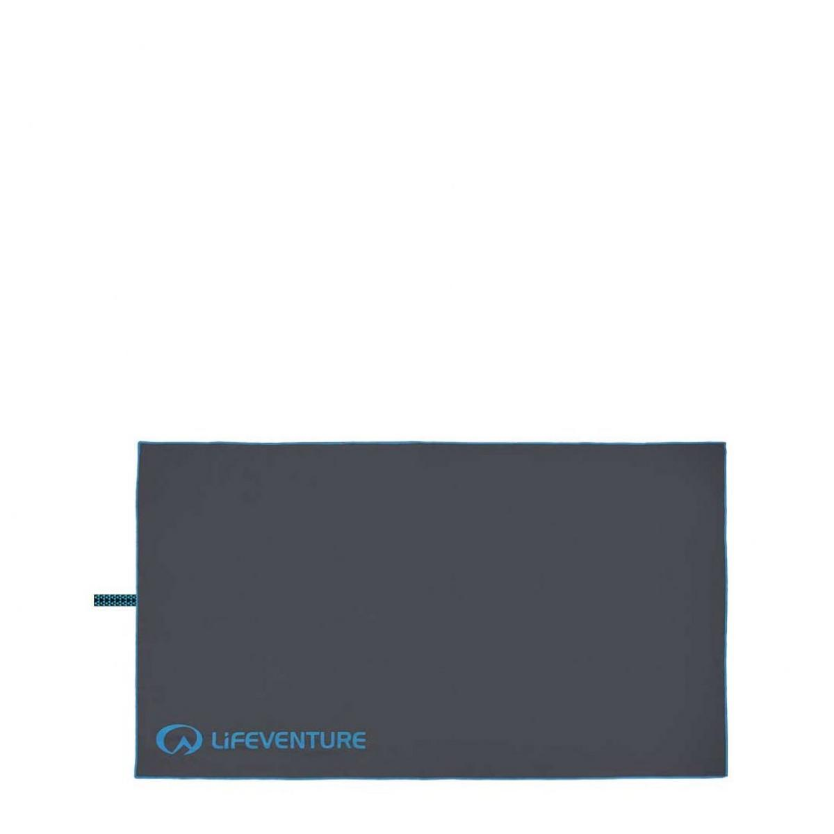 Lifeventure Recycled SoftFibre Towel Large - Grey