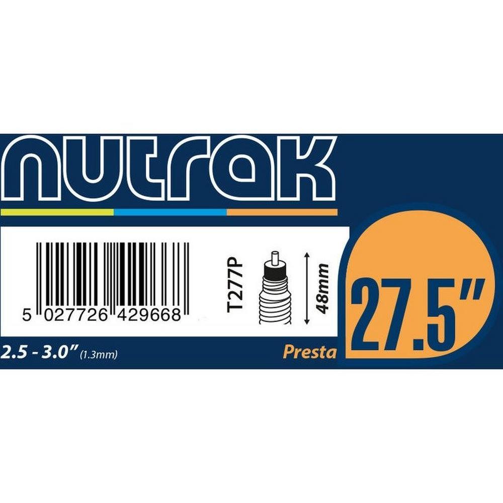 Nutrak 27.5 x 2.5 - 3.0 Presta Valve Inner Tube