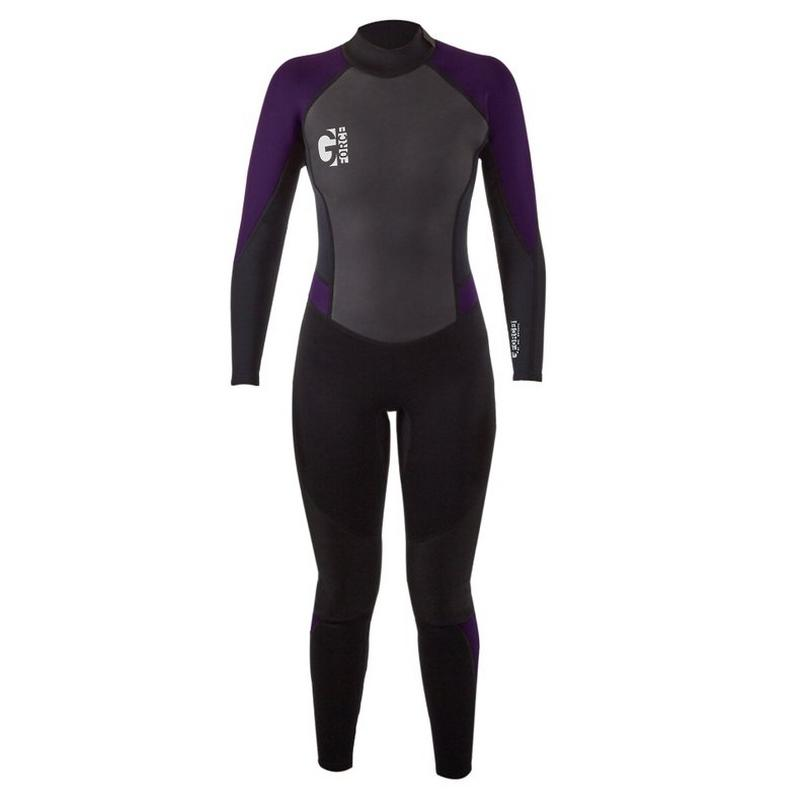 Women's GForce 3mm Wetsuit - Black/Mulberry