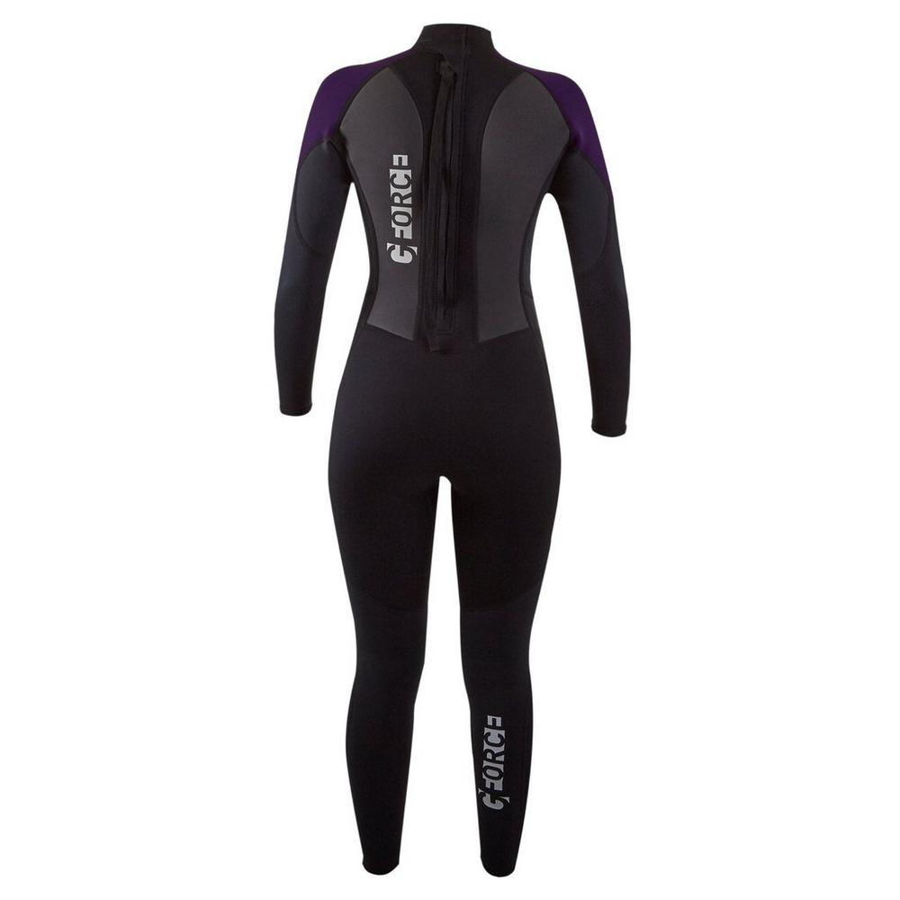 Gul Women's GForce 3mm Wetsuit - Black/Mulberry