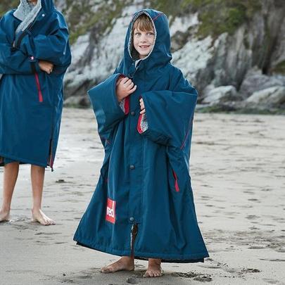 Red Paddle Kids Red Original Pro Change Jacket - Navy