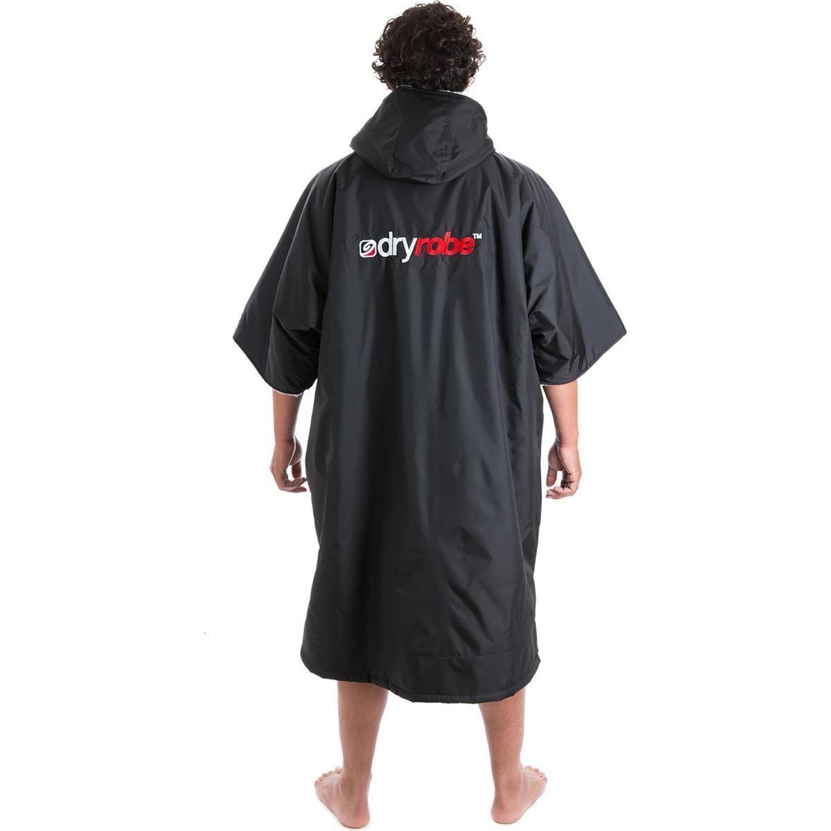 Dry Robe Advance Short Sleeve - Black/Grey