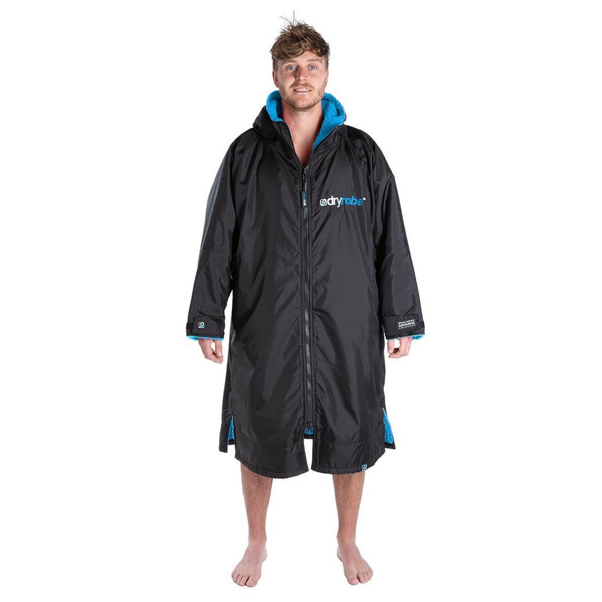 Dry Robe Advance Long Sleeve - Black/Blue