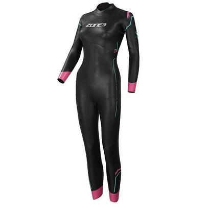 Zone3 Women's Agile Wetsuit - Black/Pink