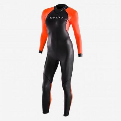 Orca Women's Openwater Core Hi-Vis Wetsuit - Black