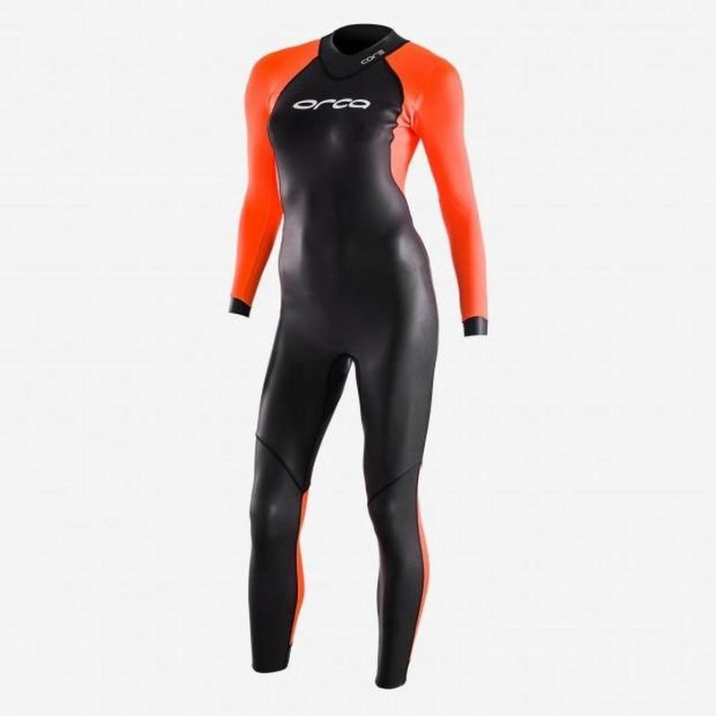 Women's Openwater Core Hi-Vis Wetsuit - Black