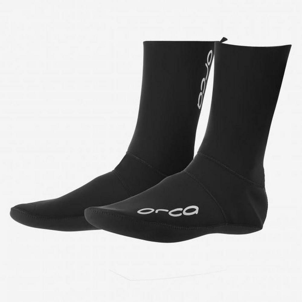 Orca Swim Socks - Black
