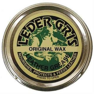 Boot Care: Leder Gris CLEAR Wax 80g