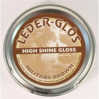 Boot Care: Leder Gris Wax High Shine MoD BROWN 80g