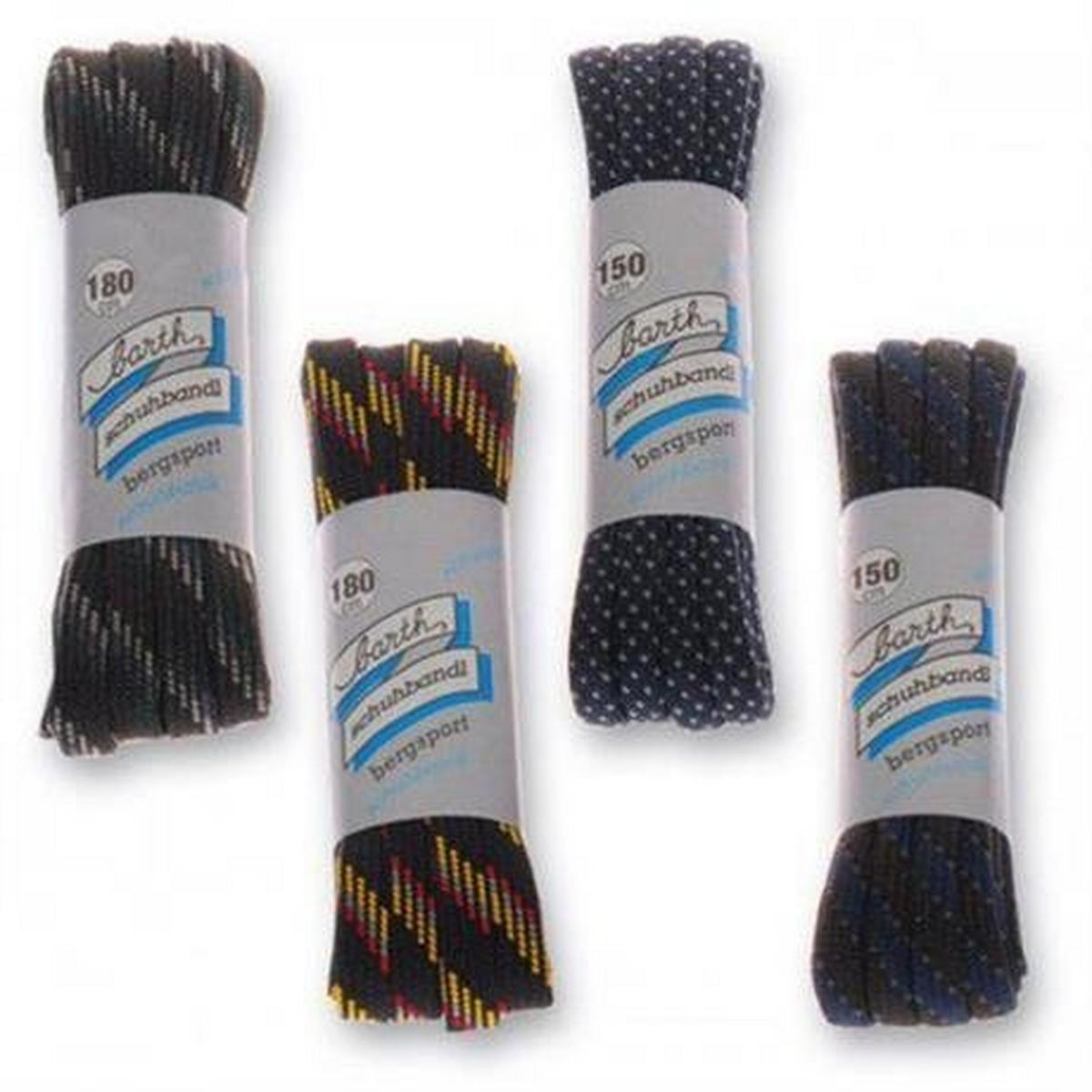 Meindl Spare Laces 200cm Flat/Round (assorted colours)