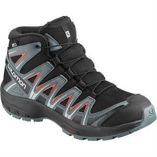 Boots Junior XA Pro 3D Mid CSWP Black/Stormy/Cherry