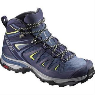 Boots Women's X Ultra Mid 3 GTX Crown Blue/Lime
