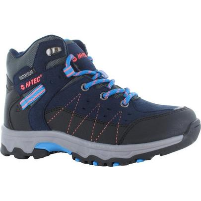 Hi-tec Girl's Shield Waterproof Walking Boot - Navy
