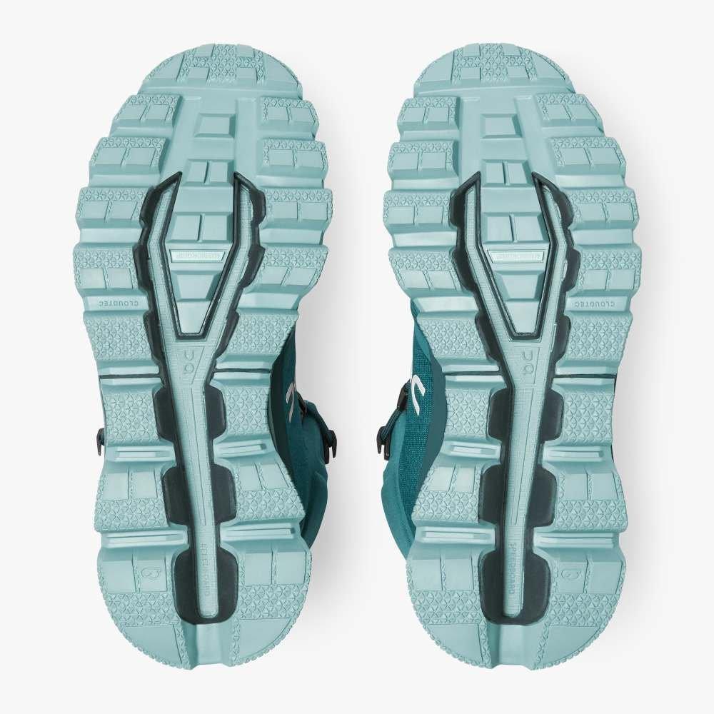 On Women's Cloudrock Waterproof Hiking Boot - Storm Wash