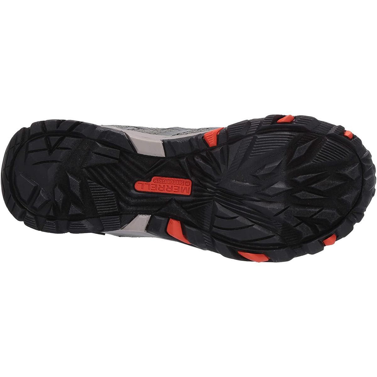 Merrell Kids Moab FST Mid A/C Waterproof - Orange / Black