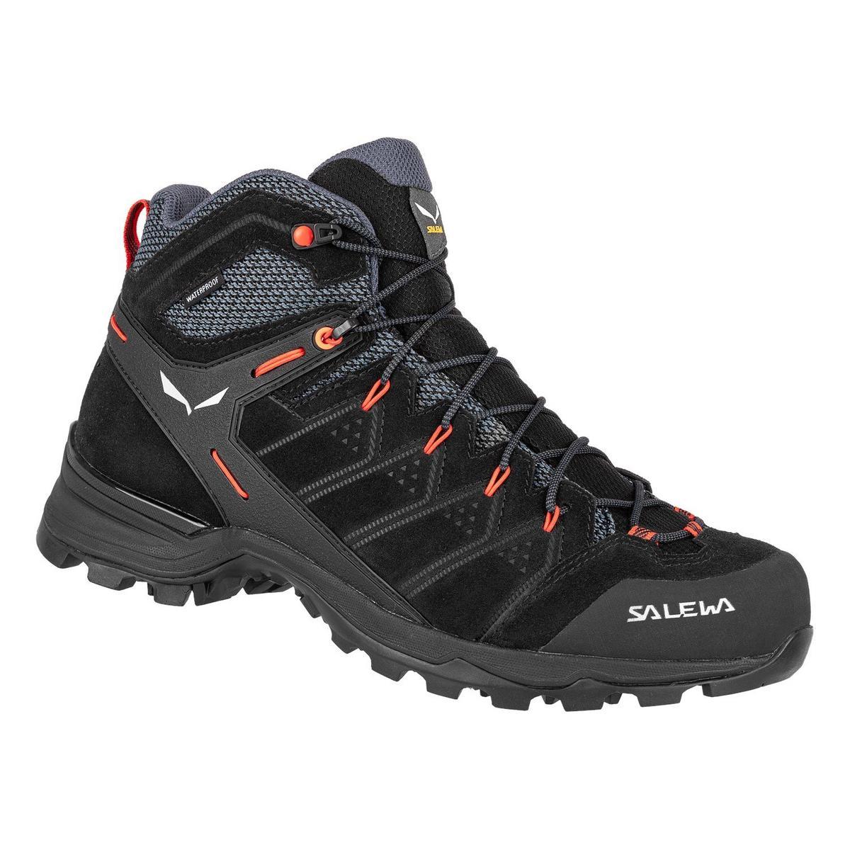 Salewa Men's Alp Mate Mid Waterproof Shoe- Blackout
