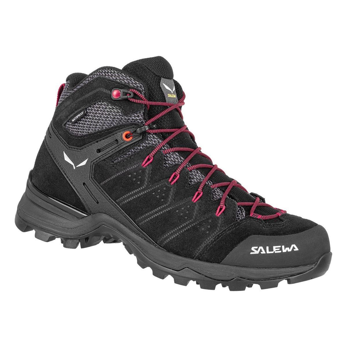 Salewa Women's Alp Mate Mid Waterproof Shoe- Blackout