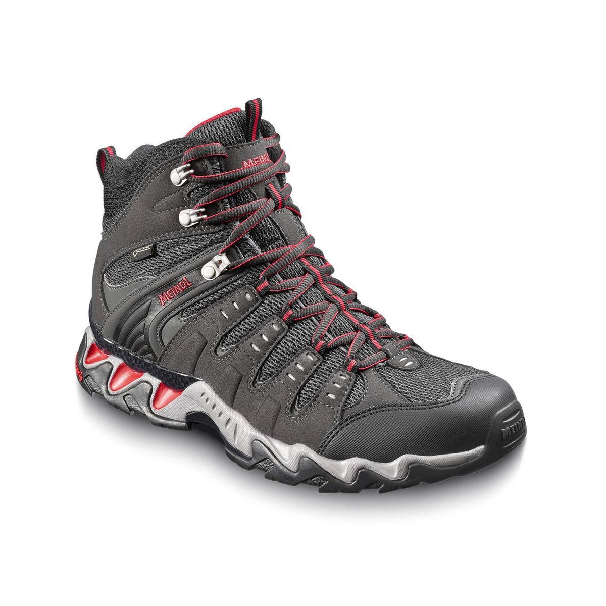 Meindl Men's Respond Mid GORE-TEX Walking Boot - Graphit Rot