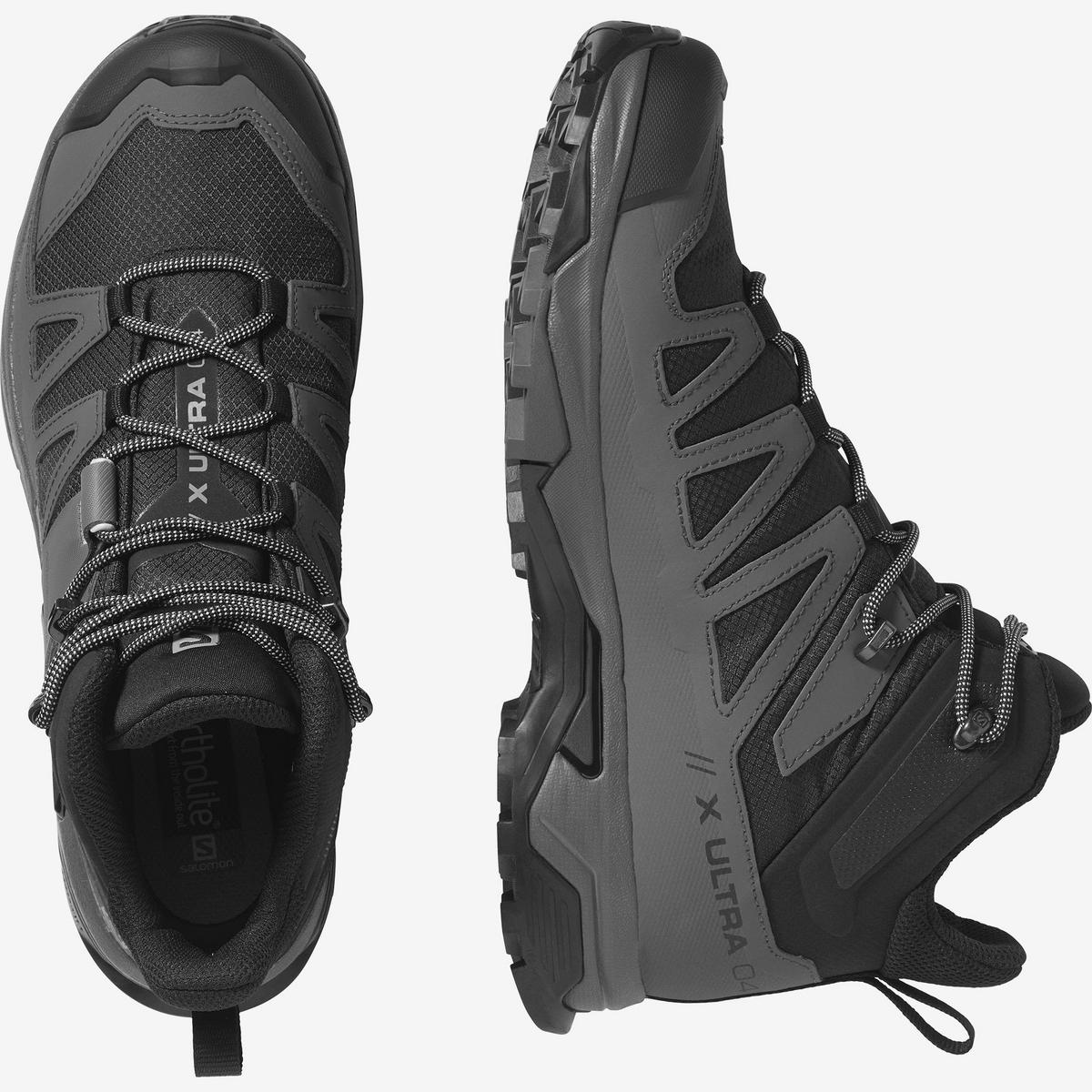 Salomon Men's X Ultra 4 Mid GTX - Magnet Black