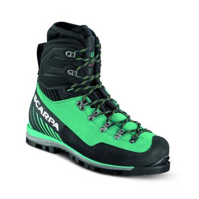 Scarpa Women's Mont Blanc Pro GORE-TEX Mountaineering Boot - Green/Blue