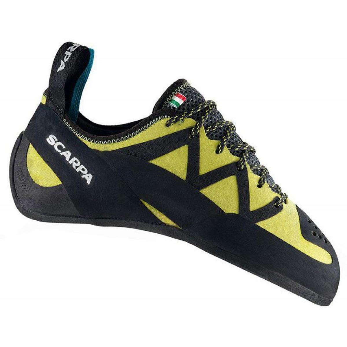 Scarpa Rock Shoes Men's & Unisex Vapour Lace Yellow