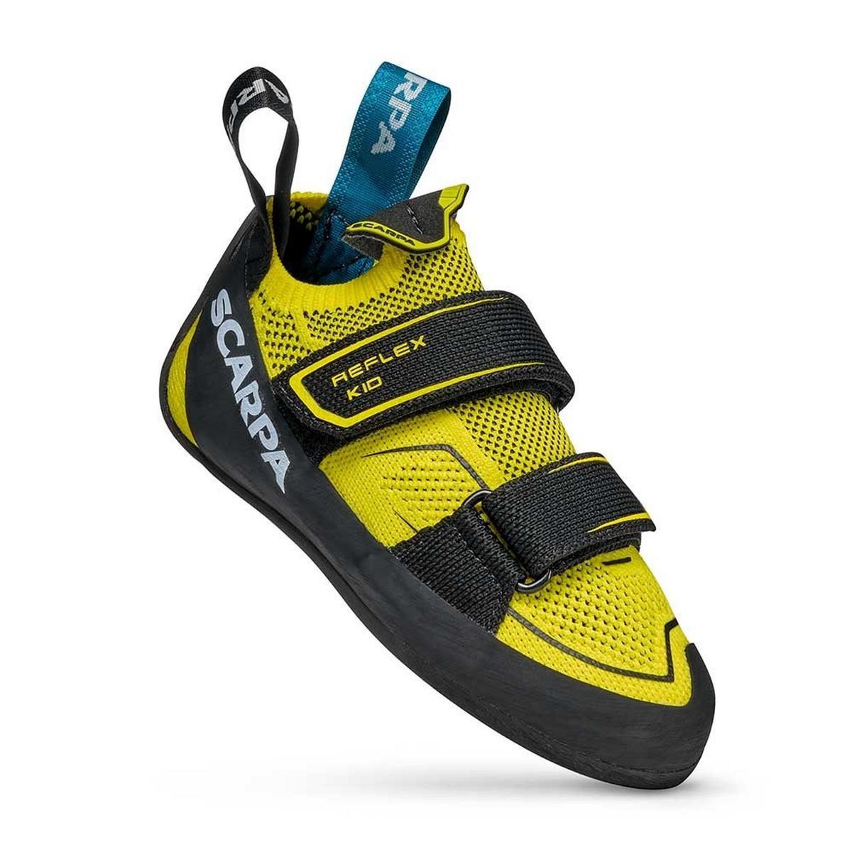 Scarpa Kids Reflex Velcro - Yellow / Black