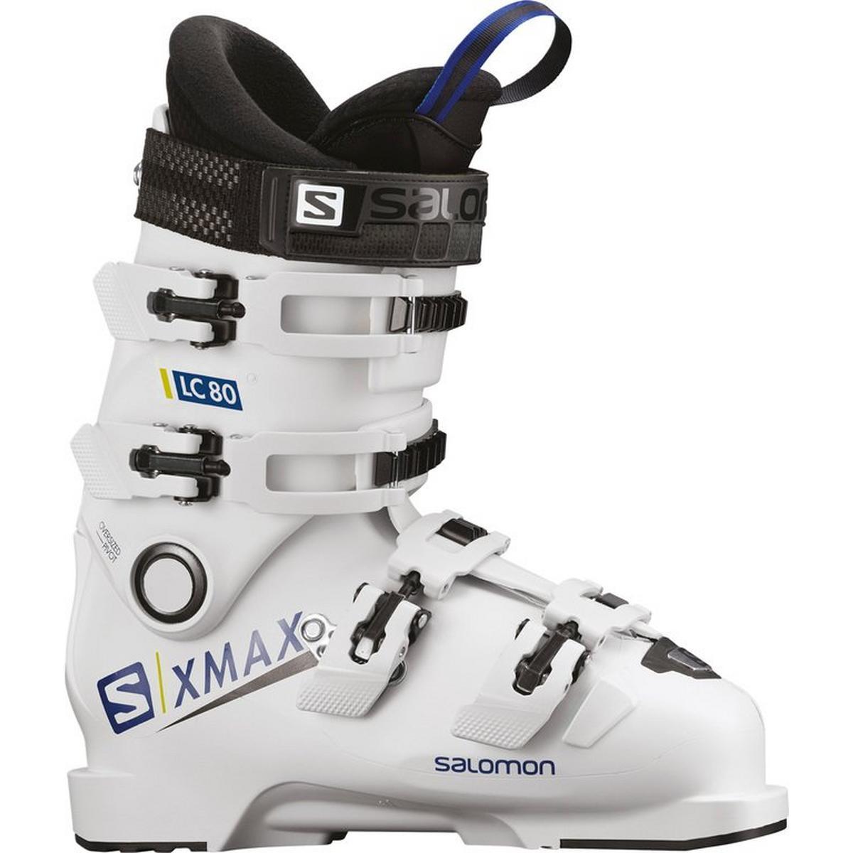 Salomon X/MAX LC 80 Junior Ski Boot - White