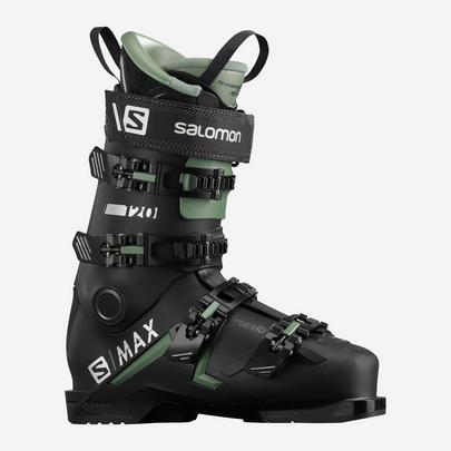 Salomon Men's S/Max 120 Ski Boot - Black / Olive