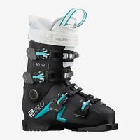 Women's S/PRO 80 Ski Boot - Black/White