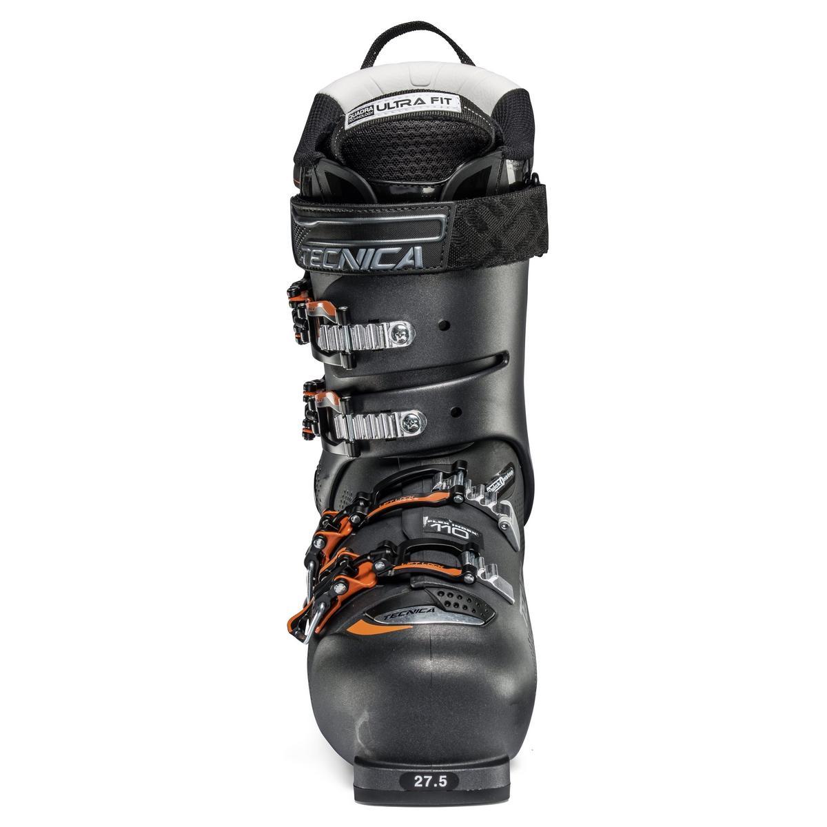 Tecnica Men's Mach1 MV 110 Ski Boot 2018 - Black