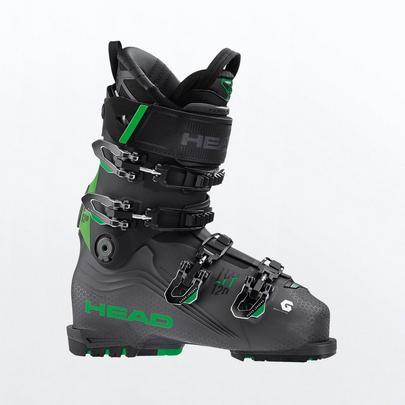 Head Men's Nexo Lyt 120 Ski Boot - Anthracite / Green