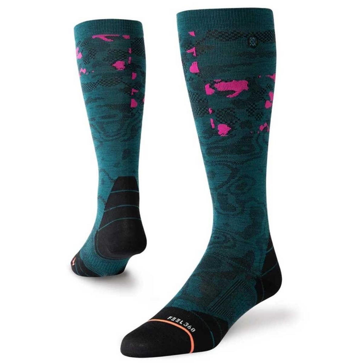 Stance SKI Socks Women's UL Merino Heat Map Green